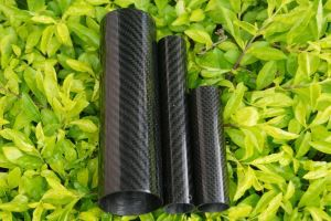 Carbon Fiber Muffler Pipe,3K Twill Carbon Fiber Composite Exhaust Tube