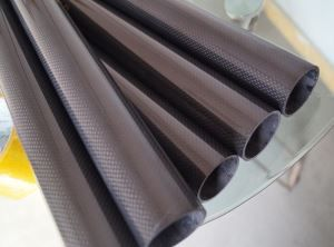 Light Weight 25mm Carbon Fiber Tube Flexible
