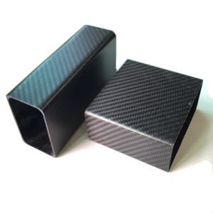 3K Carbon Fiber Rectangular Tube For Battery Box